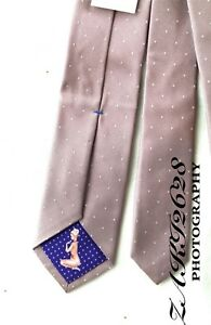 BNWT PAUL SMITH MEN'S TIE 8CM 100% SILK DOT & NAKED LADY MADE IN ITALY RRP £85