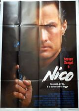 manifesto movie poster 4F NICO STEVEN SEAGAL DAVIS CINEMA AZIONE