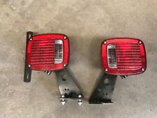 2 lot GROTE 5370 5371 TAIL LIGHTS TRAILER Truck Ford Cab RV Semi Chassis Angle