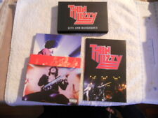 """Thin Lizzy """"Live and Dangerous"""" 2007 CD & DVD DeLuxe Card Case Edition Box Set"""