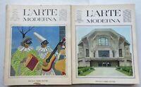 L'ARTE MODERNA  FRATELLI FABBRI EDITORE  1967 LOTTO 22 RIVISTE
