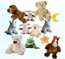Warmies Wärme Kuscheltiere Teddybär Pferd Sonne Mond Einhorn  Bär  usw.