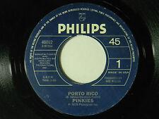 Pinkies 45 PORTO RICO / EL TIPICO AMOR ~ VG+ dance
