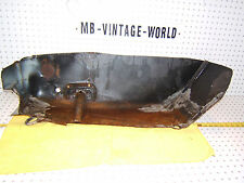 Mercedes W108,109 Rear trunk Metal Left Driver USA well CUT Genuine OEM 1 Piece