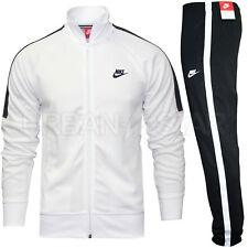 Nike TRIBUTE Full Polyester Tracksuit Zip Jacket Jogging Bottms Joggers