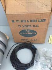 Cool Vintage Ademco 12 Volt Alarm System Very Easy To Install Very Loud Work Van