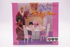 Gloria,Barbie Size Doll House Furniture/(94011) Dining Room Play Set