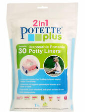 Brand new in pack Potette plus biodegradable disposable potty liners 30 pack