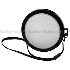 55mm White Balance Filter Cap for Sony A33 A35 A55 A65 18-55 55-200mm lens Nikon