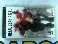 PSP GAME METAL GEAR ACID (ORIGINAL USED)