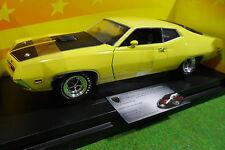 FORD TORINO Cobra 1971 jaune 1/18 d AMERICAN MUSCLE ERTL 36512 voiture miniature