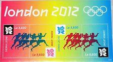 Sierra Leone 2012 Olympics London Olympic Ancient Runner Runner Sport MNH