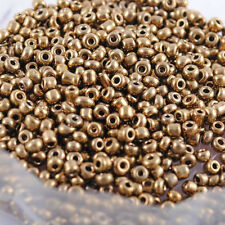 1000pcs Cezch Glass Seed Beads Jewelry Finding Spacer Beads Solid DIY Bead