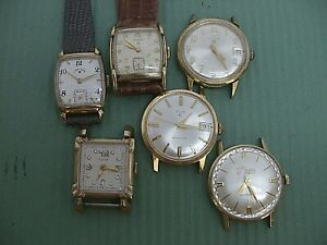 ELGIN VINTAGE WATCHES + ONE LORD ELGIN AUTO!!