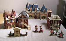 Complete Disney Parks Village Series Old World Antiques 15 Piece Department 56