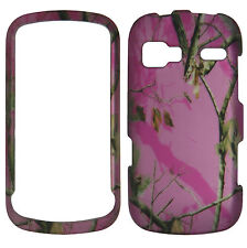 Pink Camo Mapel Msy Case for LG Expression C395 Rumar Freedom  Phn. Cover :