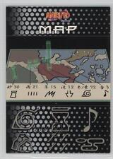 2002 Panini Naruto: Way of the Ninja #71 Map Non-Sports Card 1j6