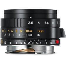 Leica Elmarit-M 28mm f/2.8 ASPH Lens black # 11677 M10 M20P M9P M9 M8 SL A7RII