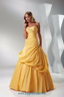 Flirt by Maggie Sottero 6 FUCHSIA BALLGOWN FORMAL PROM PAGEANT DRESS GOWN #P4514