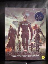 Captain America The Winter Soldier Kimchidvd Blu-Ray Steelbook Lenticular Sealed