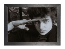 Bob Dylan (14) American Singer Songwriter Author 1960's Pop Portrait Poster