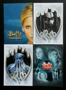 B7-UK, BC1, SE1 & SE9 Buffy The Vampire Slayer trading cards Story So Far Seas 7
