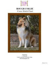 ROUGH COLLIE - cross stitch chart