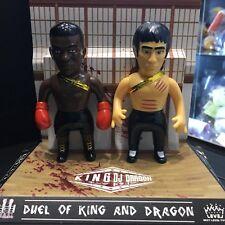 Next Level Toys Duel of King and Dragon Bruce Lee sofubi vinyl art KungFu toy
