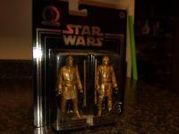 STAR WARS Skywalker Saga Commemorative Edition Gold OBI-Wan Kenobi / Anakin NEW