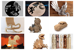 Collection 200,000 Vectors Laser Cut or CNC Files DXF CDR 20 GB