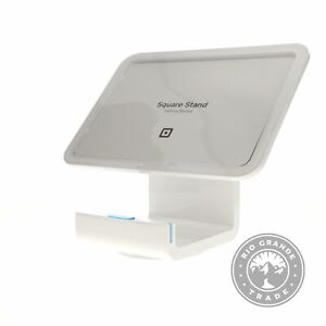 """Square Stand only (w/o Reader and Dock) for 9.7"""" iPads, S089, White"""
