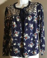 Anthropologie OS One September Size XS-Embroidered Free Shipping MSRP $88
