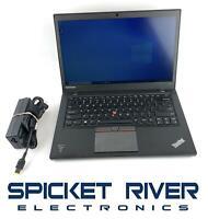 """READ - Lenovo ThinkPad T450S 14"""" i5-5300U 2.30GHz 128GB SSD 8GB RAM Win10 #58270"""