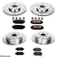Autospecialty KOE6227 Daily Driver 1-Click OE Replacement Front//Rear Brake Kit Power Stop