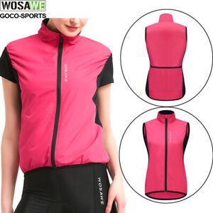 Women's Cycling Vest Top  Fitness Running Sport Vest Sleeveless Shirt Winproof