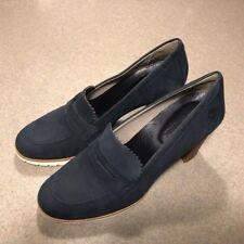 TIMBERLAND LESLIE ANNE MOCCASIN DARK BLUE WOMEN'S PUMPS SHOES SIZE 8.5