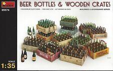 Beer Bottles & Wooden Crates 1:35 von Mini Art neu !!!