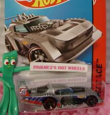 Case P 2015 Hot Wheels TWO TIMER #177 US☆Gray/Black/Metal; 5☆HW Race☆Track Aces