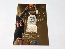 Shaquille O 'Neal 1995/96 FLEER ULTRA ORO Medallion Parallel card #120 Magic