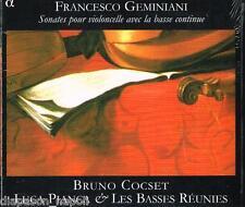 Geminiani: Sonate Per Violoncello e Basso Continuo Op 5 / Bruno Cocset - CD