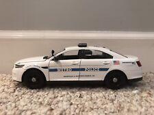 Nashville Metro Tennessee custom diecast Police car Motormax 1:24 scale