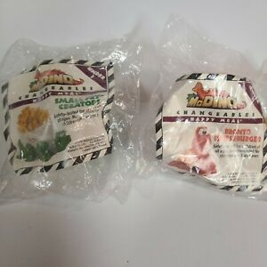 McDonalds Happy Meal Toys McDino Changeables 1990 Both Under Three Toys SEALED!
