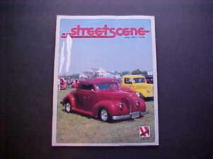 NSRA Street Scene July 1987--1938 Ford Model 81A convertible, rod runs, ads, etc