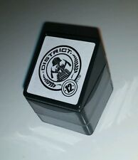 Hunger Games Square Stamp Pre Inked District 12 Catching Fire Party Favor NEW