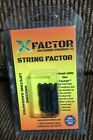 X-Factor Outdoor Products String Cable Silencers 4 Pack Black Archery