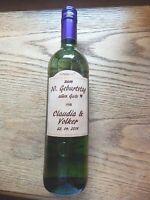 Etiketten aus Holz mit Lasergravur zum kleben auf Flaschen 4260327940090