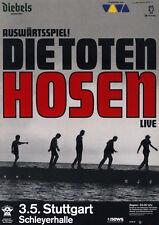 Original Konzertplakat  Die Toten Hosen 2002   Stuttgart Schleyerhalle