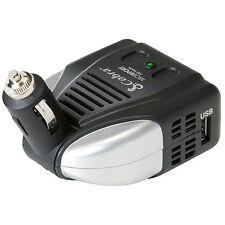 Cobra Micro Travel Power Inverter 120 Watts w/ Extra USB + Swivel Plug
