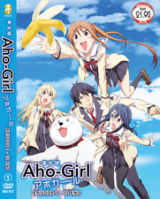 DVD ANIME Aho Girl Vol.1-12 End English Subs All Region + FREE DVD