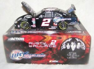 2003 RUSTY WALLACE 1/24 Action MILLER TIME LIVE/GOO GOO DOLLS DIECAST